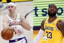 """Lakers """"thiệt quân"""" sau thất bại cay đắng: LeBron James sẽ nghỉ đấu, Alex Caruso chấn thương"""