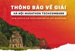 Giải chạy Hà Nội Marathon Techcombank tiếp tục hoãn ngày ra mắt