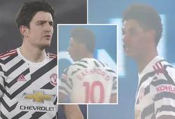 2 ngôi sao MU cãi nhau trên sân trong trận hòa Crystal Palace