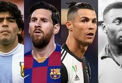 Nhà vô địch World Cup chê Ronaldo kém hơn Pele, Maradona và Messi