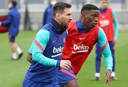 """Messi nâng đỡ """"đàn em"""" ưng ý trong đội một Barca"""