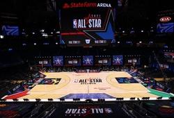 Hé lộ hình ảnh đầu tiên về sân đấu tuyệt đẹp của NBA All-Star 2021