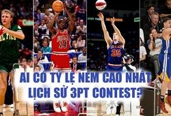Chùm ảnh: Điểm danh Top 15 tay ném có tỷ lệ cao nhất lịch sử NBA 3-Point Contest
