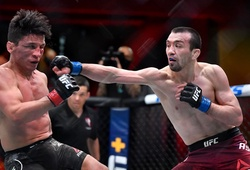 Khabib ca ngợi chiến thắng tay đấm khiếm thính Askar Askarov tại UFC 259