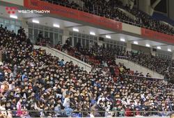 Trận đầu tiên V.League 2021 trở lại sau dịch COVID-19 đón hơn 2.000 khán giả