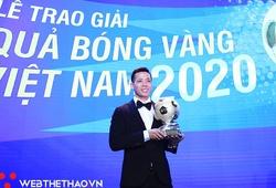 Văn Quyết trở thành Gương mặt trẻ Việt Nam tiêu biểu năm 2020