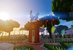 Game thủ đưa Việt Nam vào Minecraft, mang hình ảnh đất nước ra thế giới
