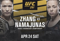 """Weili Zhang chạm trán """"Thug"""" Rose dẫn đầu UFC 261"""