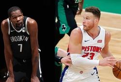Kevin Durant tiếp tục ngồi ngoài vì chấn thương, Blake Griffin gửi tin buồn sớm đến CĐV Nets
