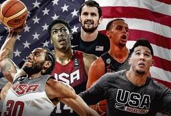 Đội tuyển bóng rổ Mỹ công bố danh sách tập trung đến… 57 cầu thủ