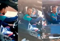 Messi nổi giận với CĐV Barca khi bị làm phiền sau buổi tập