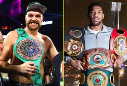 Tyson Fury và Anthony Joshua kí hợp đồng 2 trận tranh đai Quyền Anh hạng nặng