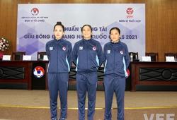 Trước giờ G, ba nữ trọng tài tự tin tạo nên lịch sử bóng đá Việt