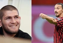 Khabib tiết lộ lời khích lệ của Zlatan Ibrahimovic trước trận đấu cuối cùng