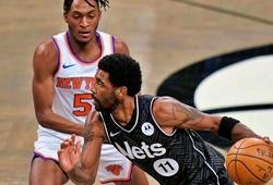 Harden, Irving rực sáng, Nets vẫn toát mồ hôi trước Knicks