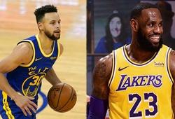 Stephen Curry đơn độc, Warriors gục ngã lần 2 trước LeBron và Los Angeles Lakers
