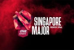 Lịch thi đấu Dota 2 One Esports Singapore Major 2021
