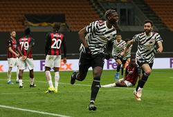 Pogba ghi bàn thần tốc sau khi thay người giúp MU thắng Milan