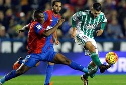 Nhận định Real Betis vs Levante, 3h ngày 20/03, VĐQG Tây Ban Nha