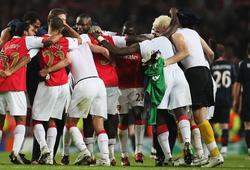 Arsenal gặp lại đối thủ từng thắng đậm nhất ở cúp châu Âu