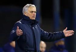 Mourinho có nguy cơ mất việc cao nhất sau khi Tottenham thua sốc