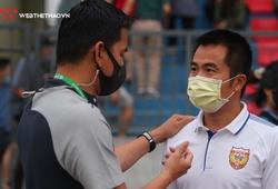 """Có điểm số đầu tiên, HLV Phạm Minh Đức """"điểm huyệt"""" Kiatisuk như thế nào?"""