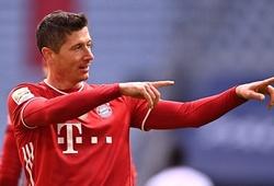 Lewandowski không có đối thủ trong cuộc đua Chiếc giày vàng châu Âu