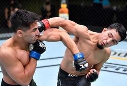 """""""Tiểu Masivdal"""" Adrian Yanez gây ấn tượng với cú knockout thứ 2 tại UFC Vegas 21"""