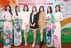 Hoa hậu, ngôi sao bóng đá HAGL khuấy động không khí Tiền Phong Marathon 2021