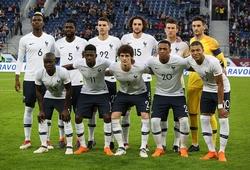 Đội hình tuyển Pháp 2021 mới nhất