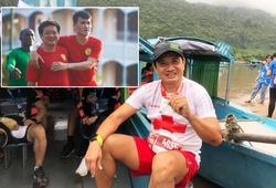 """Chạy """"gấp thếp marathon"""", ông Đoàn Ngọc Hải bán áo kỷ vật lấy tiền tặng VĐV điền kinh"""