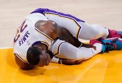NÓNG: Cập nhật chấn thương của LeBron James! NHM thở phào?