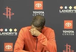 Houston Rockets chạm đáy với chuỗi thua lịch sử: HLV trưởng như khóc nghẹn khi họp báo