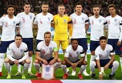Đội hình tuyển Anh 2021 mới nhất