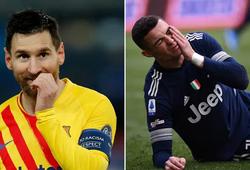 Messi vượt qua Ronaldo về thành tích ghi bàn không có phạt đền