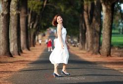 Ngắm vẻ đẹp dịu dàng hiếm lạ của kỷ lục gia SEA Games Nguyễn Thị Oanh