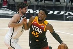 Thiếu hụt ngôi sao, Brooklyn Nets thảm bại trước Utah Jazz