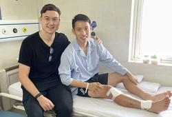 Đặng Văn Lâm bất ngờ về Việt Nam thăm Hùng Dũng