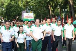 Hơn 5000 người tham gia Ngày chạy Olympic vì sức khỏe toàn dân 2021