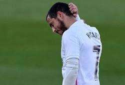Hazard tụt giá 4 lần sau hơn một năm chơi cho Real Madrid