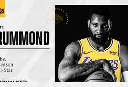 """""""Chốt đơn"""" Andre Drummond, Los Angeles Lakers đối diện một bài toán mới"""