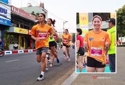Cô dâu trẻ từng vô địch SEA Games không hoàn thành Tiền Phong Marathon