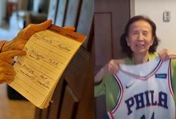 Cụ bà 95 tuổi mày mò NBA bỗng trở thành hiện tượng, được Danny Green tặng quà chất lừ