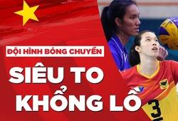 Bóng chuyền nữ VN cao Top 2 châu Á với đội hình siêu to khổng lồ này