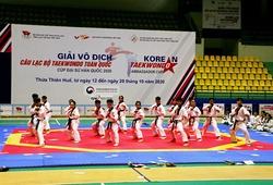 Cúp Taekwondo Đại sứ Hàn Quốc 2021 đón lượng vận động viên kỉ lục