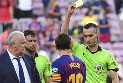 """Messi gặp trọng tài """"khắc tinh"""" với nguy cơ bỏ lỡ Siêu kinh điển"""