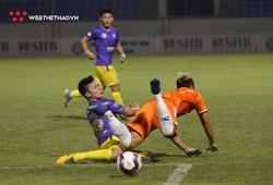"""Quang Hải trở lại, Hà Nội FC thất bại """"xấu xí"""" trước SHB Đà Nẵng"""