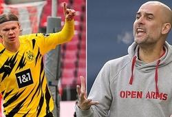 HLV Guardiola khiến CĐV Man City lo ngại về cơ hội mua Haaland