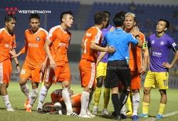Vòng 8 V.League: Nhiều CLB mất trụ cột vì án treo giò
