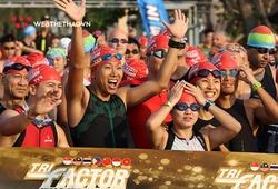 Cuộc đua bơi đạp chạy TRI-Factor trở lại thành phố biển Vũng Tàu